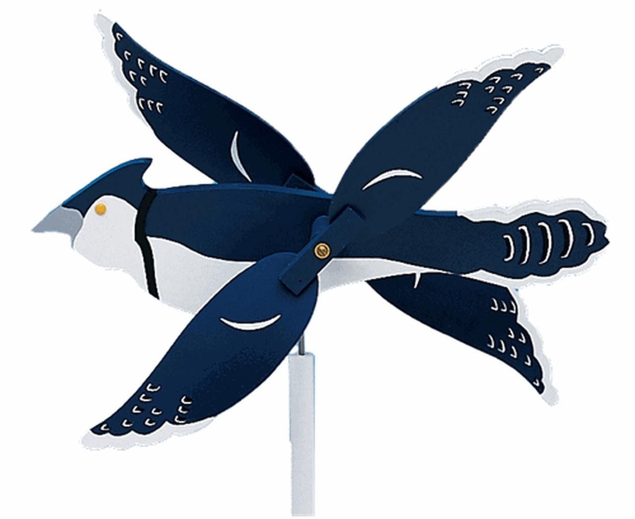 Cherry Tree Toys Blue Jay Whirligig DIY Kit