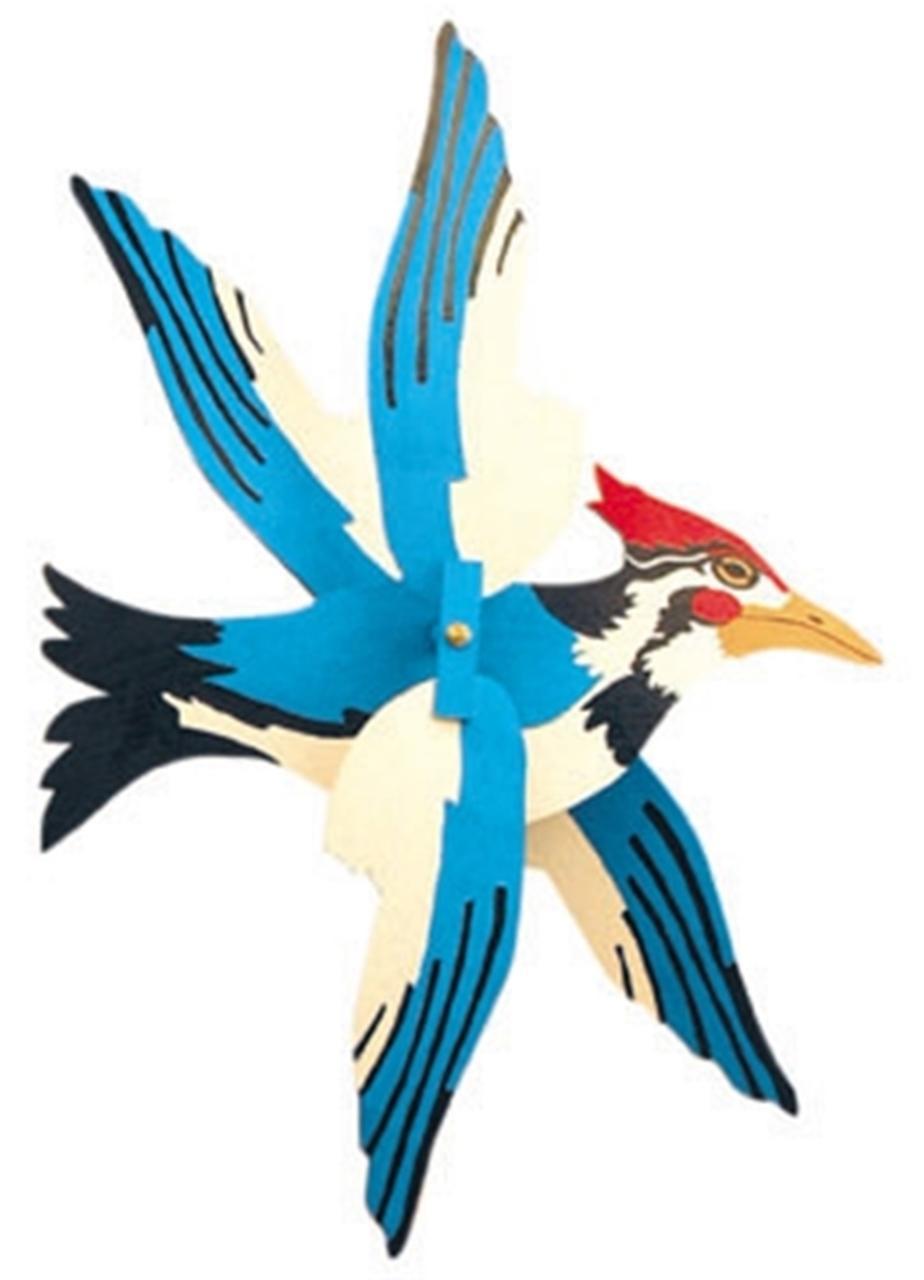 Cherry Tree Toys Woodpecker Whirligig DIY Kit