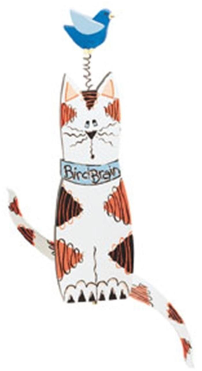 Cherry Tree Toys Cat and Bird Whirligig DIY Kit