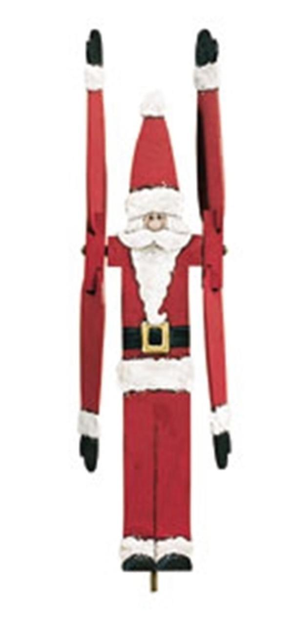 Cherry Tree Toys Santa Whirligig DIY Kit