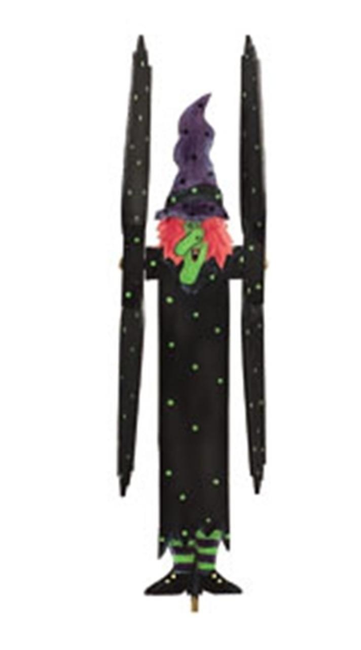 Cherry Tree Toys Halloween Witch Whirligig DIY Kit