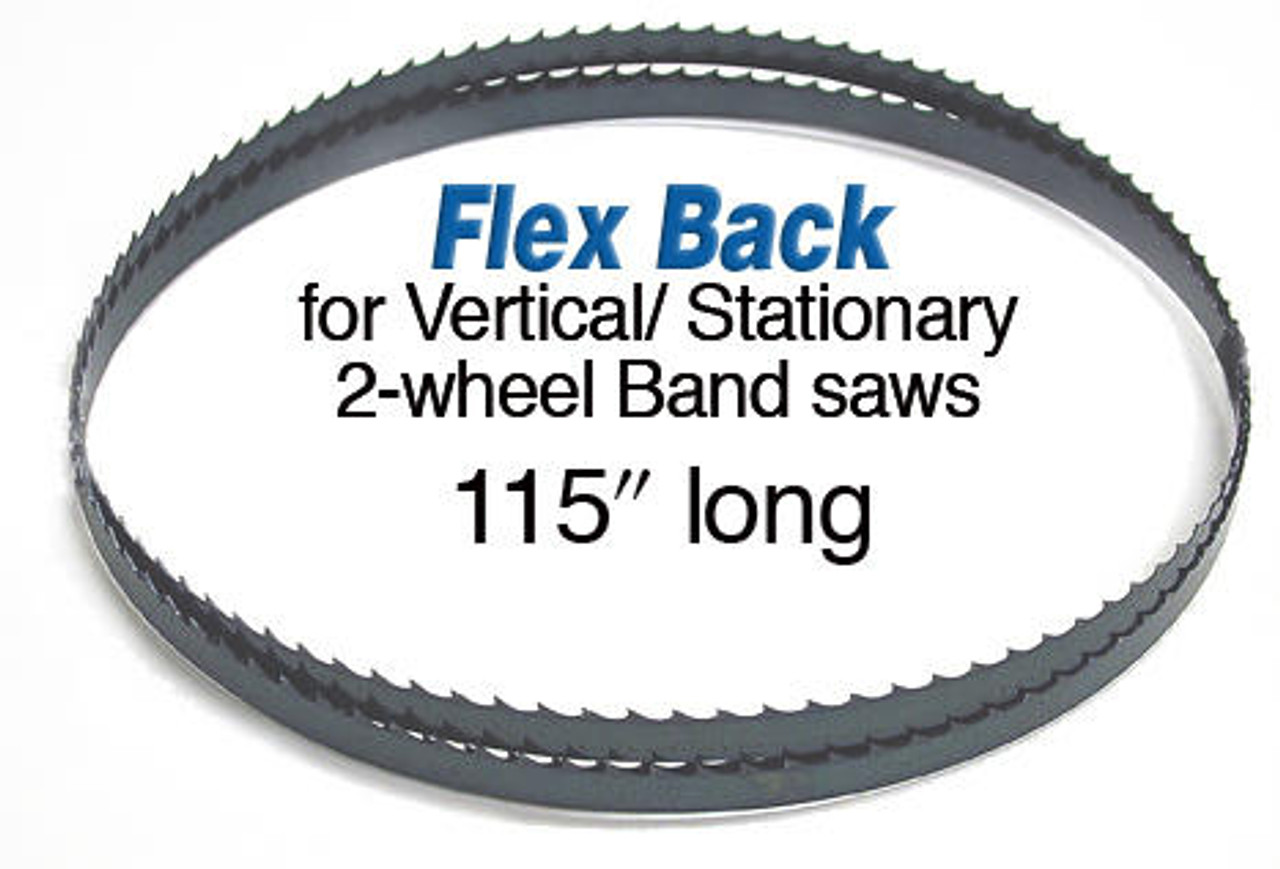 Olson Flex Back Band Saw Blade 123 x 1/4 X 4 Skip