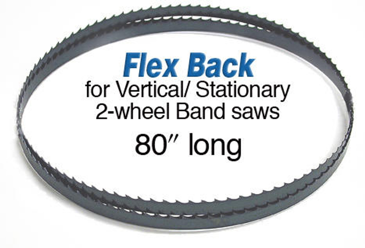 Olson Saw Olson Flex Back Band Saw Blade 80 inch X 1/4 6 Skip