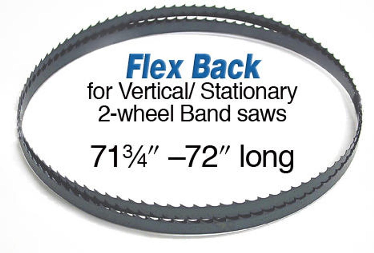 Olson Saw Olson Flex Back Band Saw Blade 71 3/4 X 1/2 3 Hook