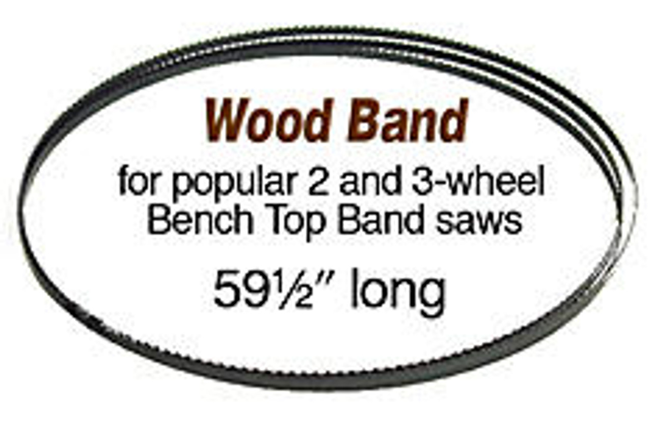Olson Saw Olson Wood Band Saw Blade 59 1/2 X1/8 14 tpi are popular for 2-3 wheel bench top Band Saws.