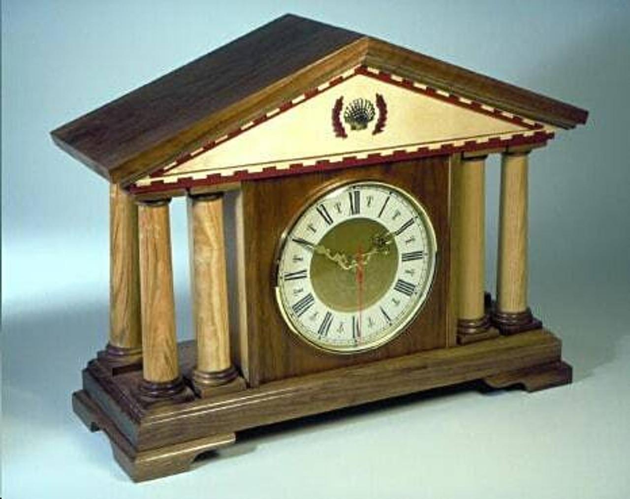 Italian Mantel Clock Woodworking Plan