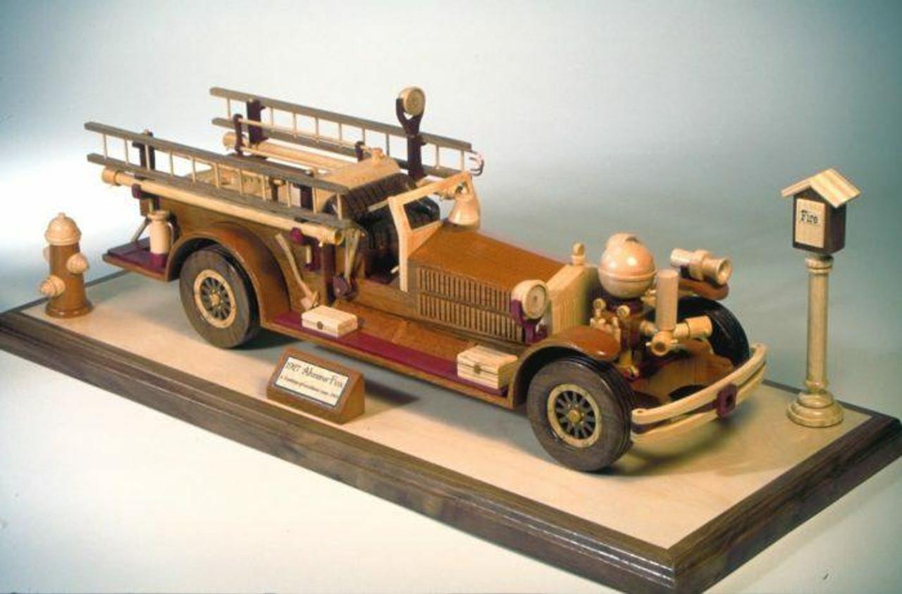 1927 Fire Engine Woodworking Plan