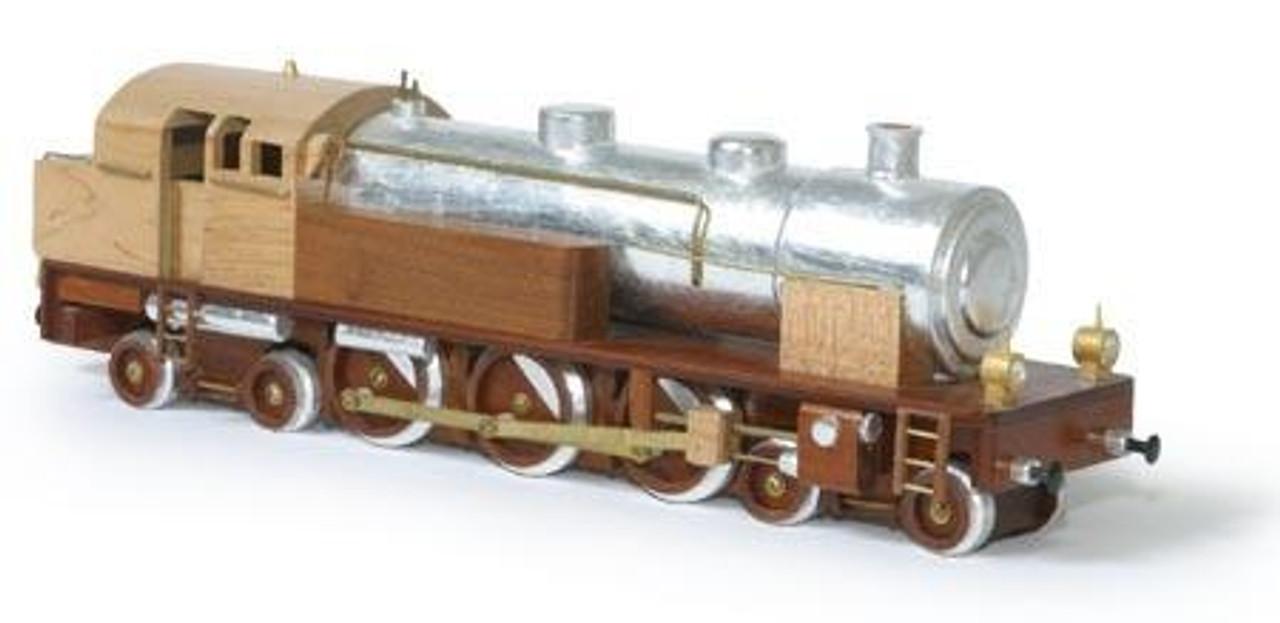 Tank Locomotive Woodworking Toy Plan