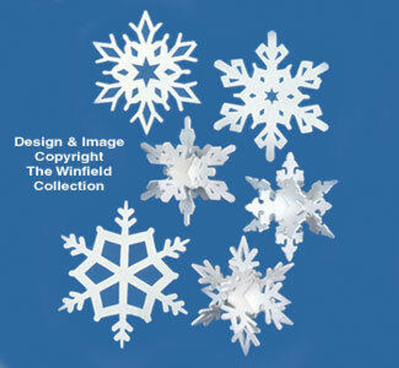 Winfield Collection Giant Snowflakes Scroll Saw Plan