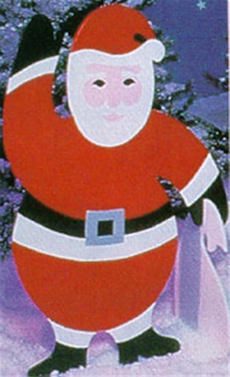 4 Foot Splendid Santa Woodworking Plan