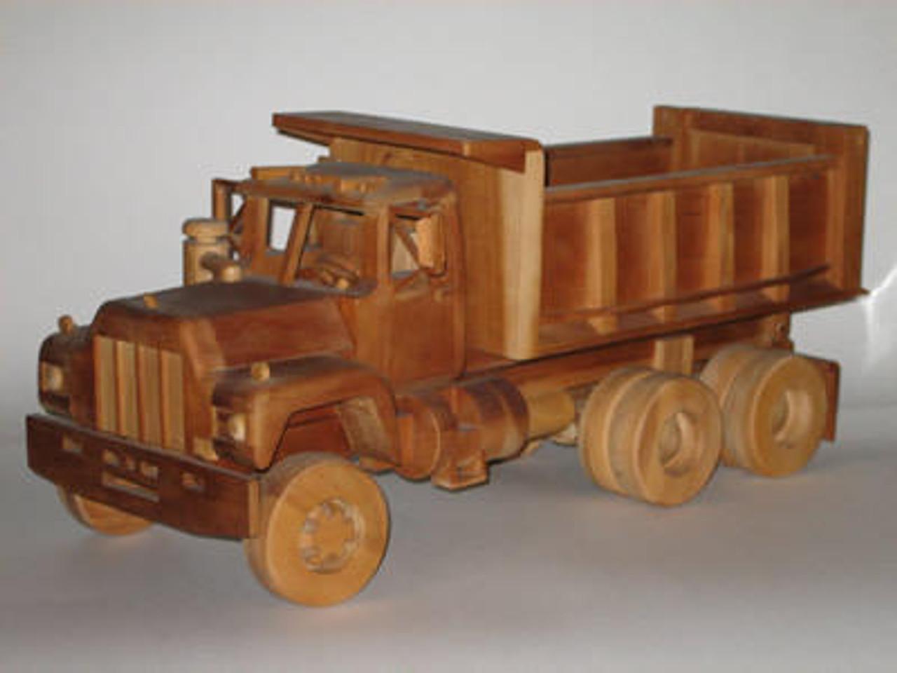 Gatto Plan Supply Dump Truck Woodworking Plan