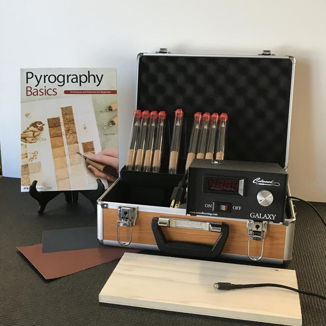 Colwood Galaxy Deluxe Woodburning Kit Fixed Tip