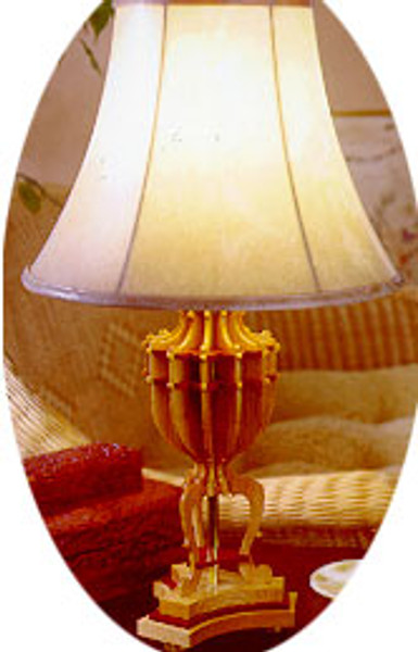 This is the Hancock Lamp, use the full size Hancock Lamp Scroll Saw Pattern to create your own.