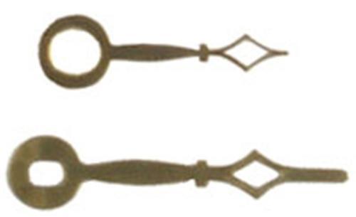 Cherry Tree Toys Hands 2 3/4 Brass Diamond