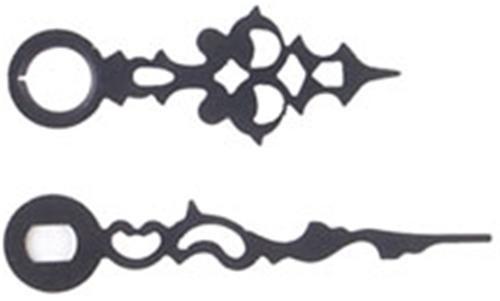 Cherry Tree Toys Hands 4 11/16 Black Serpentine
