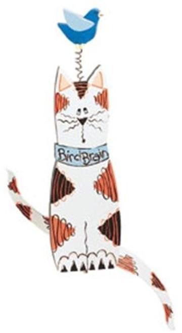 Cherry Tree Toys Cat and Bird Whirligig Plan