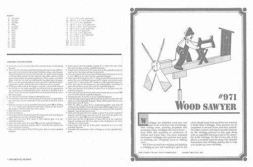 Cherry Tree Toys Wood Sawyer Whirligig Plan