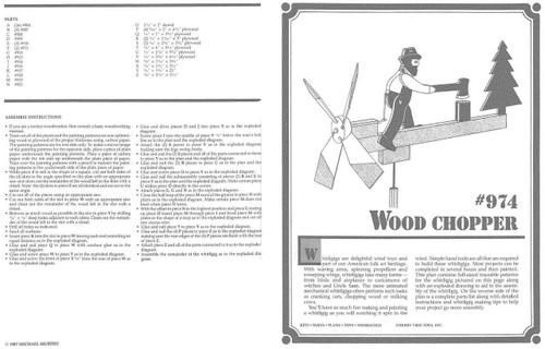 Cherry Tree Toys Wood Chopper Whirligig Plan