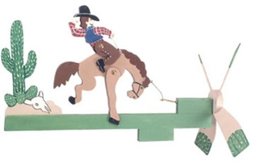 Cherry Tree Toys Bronco Rider Whirligig Plan