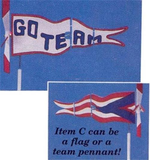 Cherry Tree Toys Penant Flag Whirligig Plan