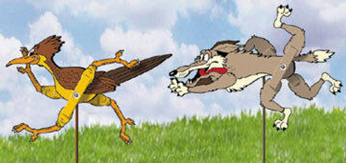 Winfield Collection Roadrunner and Coyote Whirligig Plan