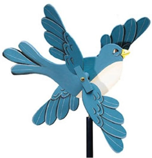 Cherry Tree Toys Bluebird w/Scalloped Wings Whirligig Plan