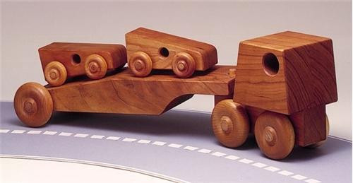 Cherry Tree Toys Car Carrier Parts Kit