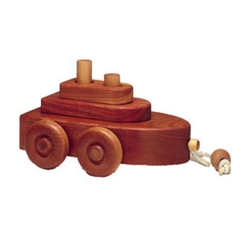Cherry Tree Toys Boat Puzzle Parts Kit
