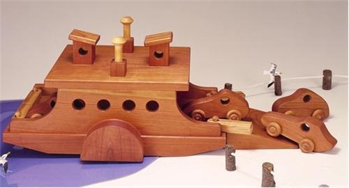 Cherry Tree Toys Ferry Boat Parts Kit