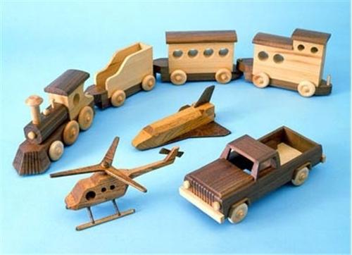 Cherry Tree Toys Wooden Toys Parts Kit