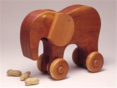Cherry Tree Toys Eli The Elephant Parts Kit