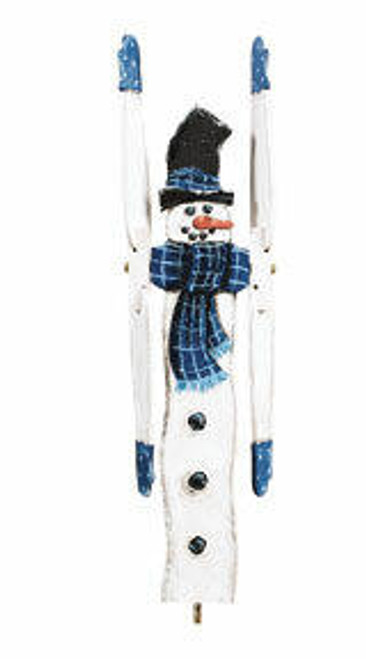 Cherry Tree Toys Winter Snowman Whirligig DIY Kit