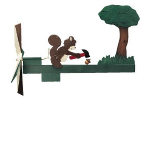 Cherry Tree Toys Squirrel Nutcracker Whirligig DIY Kit