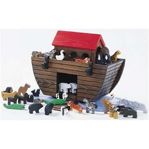 Cherry Tree Toys Noahs Ark Precut Animals