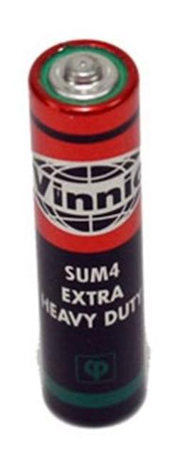 Cherry Tree Toys Heavy Duty AAA Battery