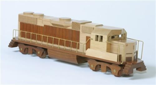 Cherry Tree Toys  Diesel Woodworking Toy Plan.