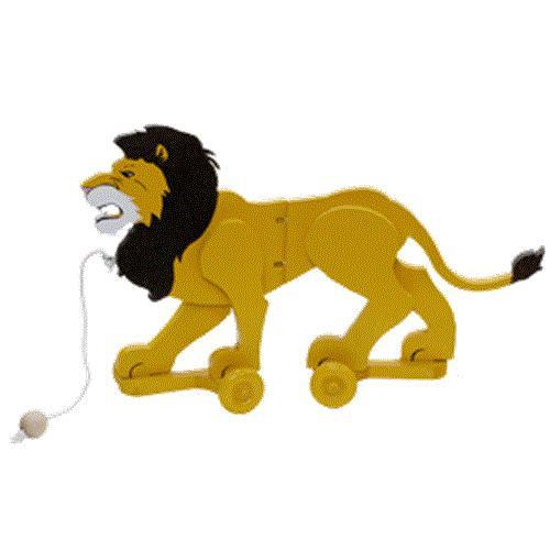 Cherry Tree Toys Lion Wiggle Toy Plan