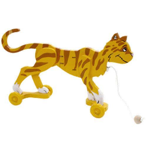 Cherry Tree Toys Cat Wiggle Toy Plan