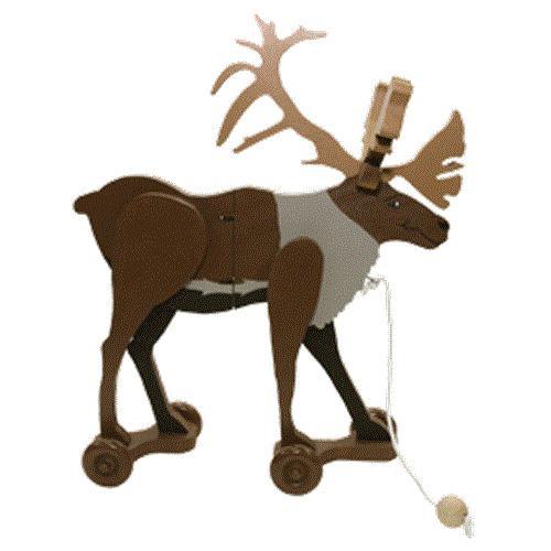 Cherry Tree Toys Caribou Wiggle Toy Plan