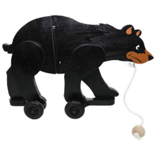 Cherry Tree Toys Black Bear Wiggle Toy Plan