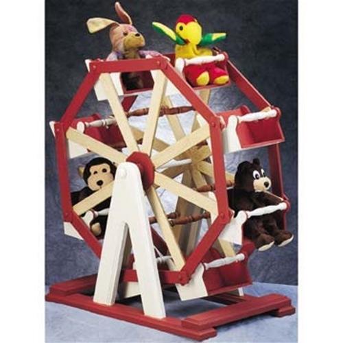 Cherry Tree Toys Beanie Ferris Wheel Plan