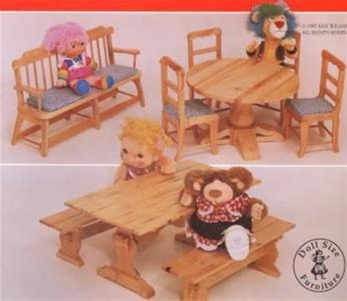 Cherry Tree Toys Doll Seating Group Plan