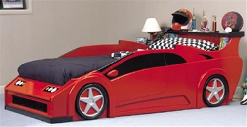 Build an awesome bed Wildwood Designs Sports Car Bed Plan.