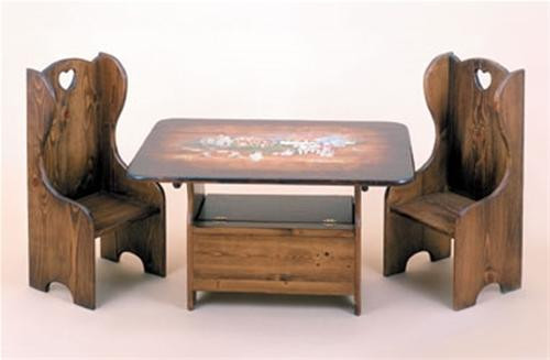 Cherry Tree Toys Table And Chair Set Plan