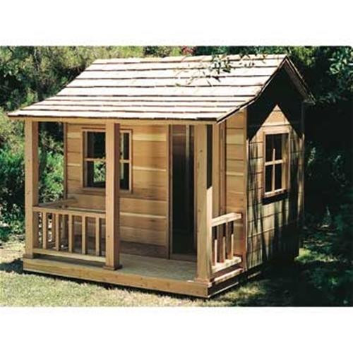 U-Bild Playhouse Woodworking Plan