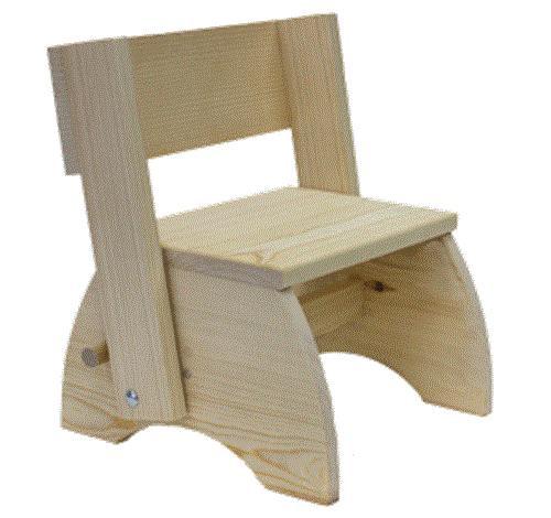 Cherry Tree Toys Childrens Chair/Step Stool Plan