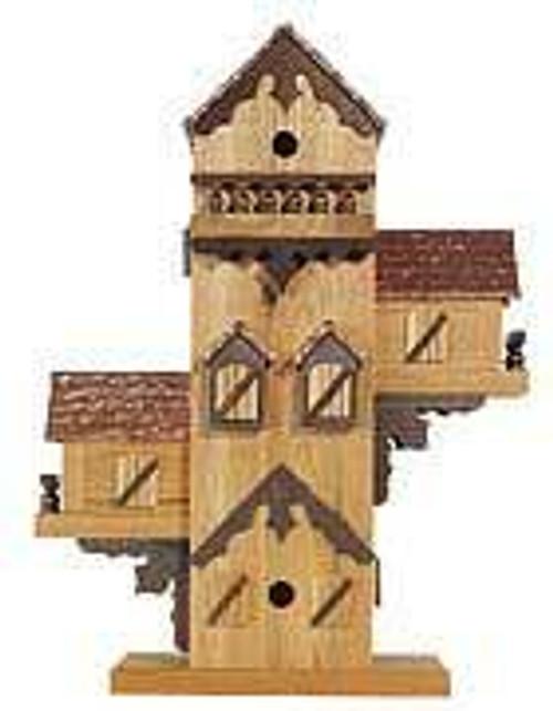 Cherry Tree Toys Bird Condo Birdhouse Plan
