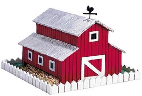 Cherry Tree Toys Barn Birdfeeder Plan