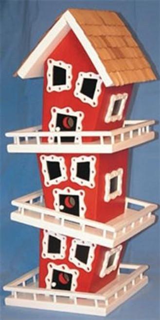 Cherry Tree Toys Triple Deck Birdhouse Plan