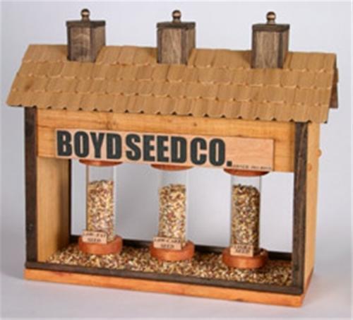 Cherry Tree Toys Boyd Seed Feeder Plan